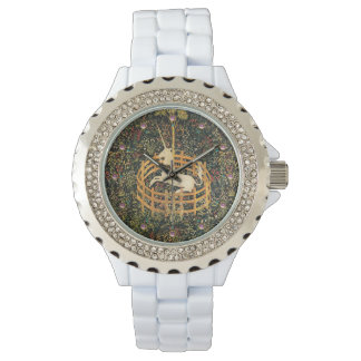 UNICORN AND GOTHIC FANTASY FLOWERS,FLORAL MOTIFS WATCHES