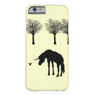 Unicorn and Humminbird Barely There iPhone 6 Case