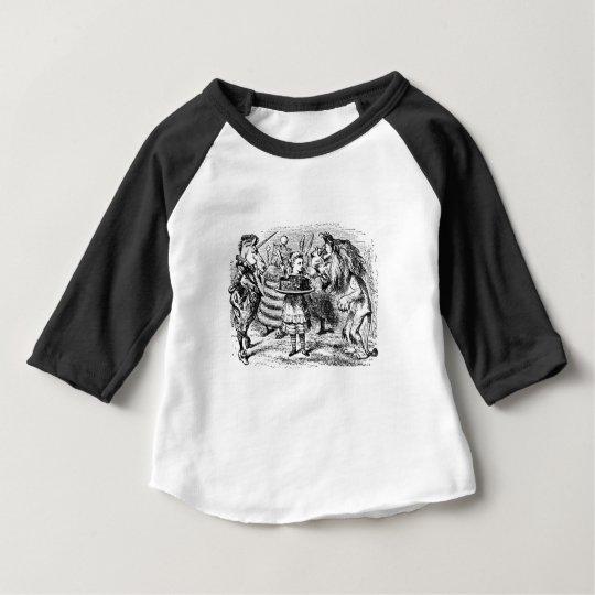 Unicorn and Lion Baby T-Shirt