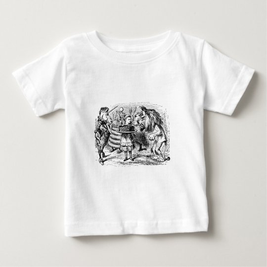 Unicorn and Lion Baby T-Shirt