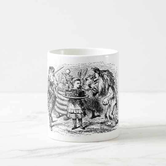 Unicorn and Lion Coffee Mug
