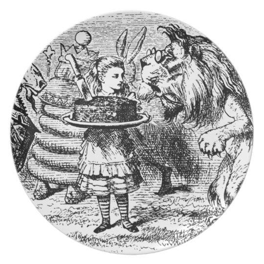 Unicorn and Lion Plates