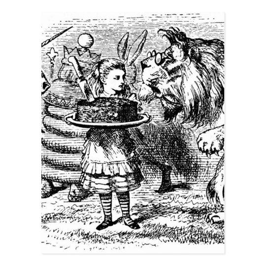 Unicorn and Lion Postcard