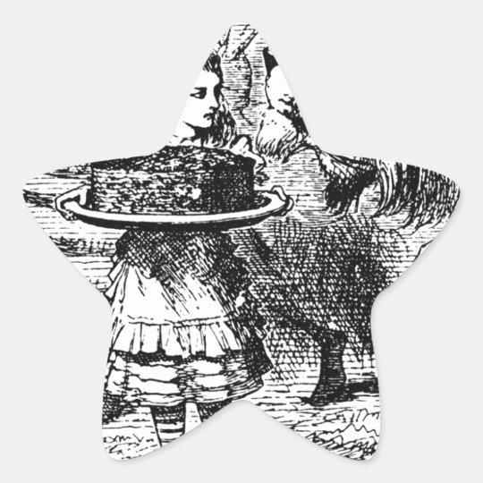 Unicorn and Lion Star Sticker