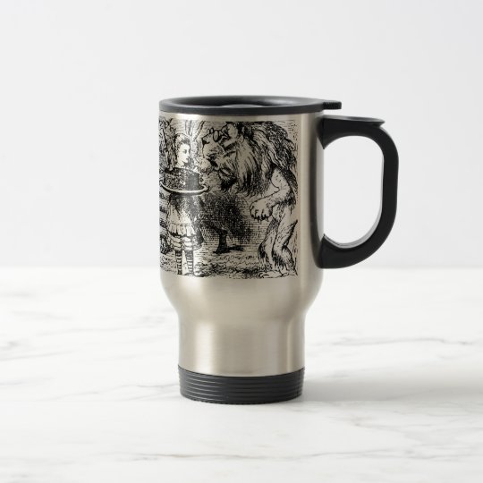 Unicorn and Lion Travel Mug