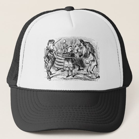 Unicorn and Lion Trucker Hat