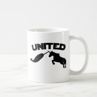 Unicorn and Narwhal Classic White Coffee Mug