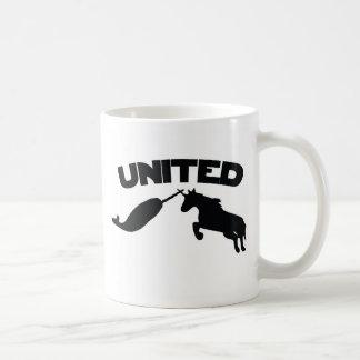 Unicorn and Narwhal Coffee Mugs