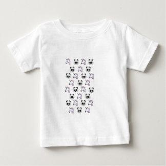 Unicorn and Panda Emojis Baby T-Shirt