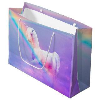 Unicorn and Rainbow Large Gift Bag