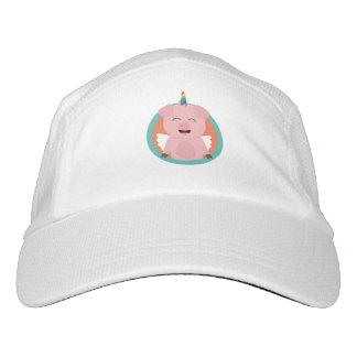 Unicorn Angel Pig in circle Zbibi Hat