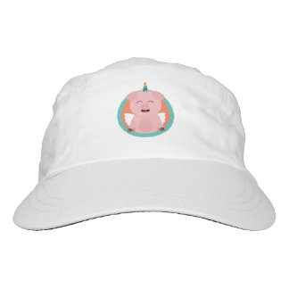 Unicorn Angel Pig in circle Zbibi Hat
