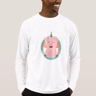 Unicorn Angel Pig in circle Zbibi T-Shirt