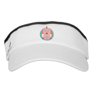 Unicorn Angel Pig in circle Zbibi Visor