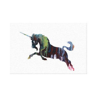 Unicorn Art Canvas Print