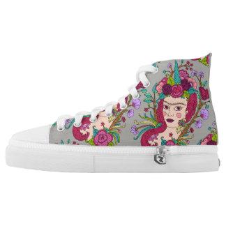 Unicorn art high tops shoes