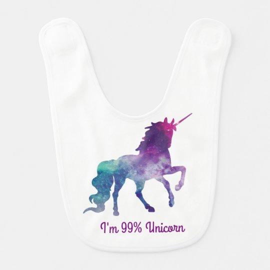 Unicorn - Baby Bib