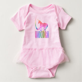 UNICORN: Baby Tutu Bodysuit