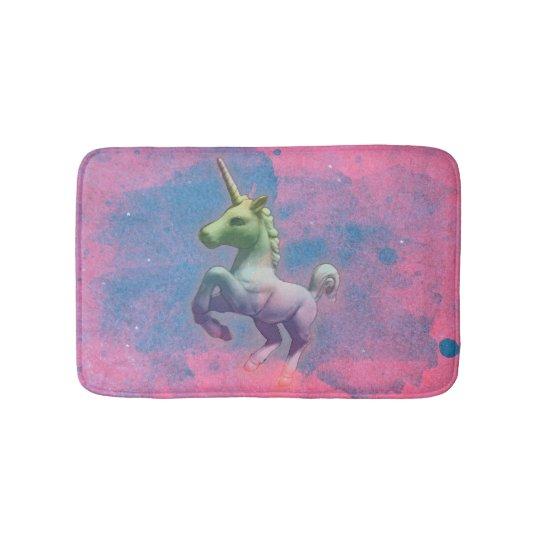 Unicorn Bath Mat (Cupcake Pink)
