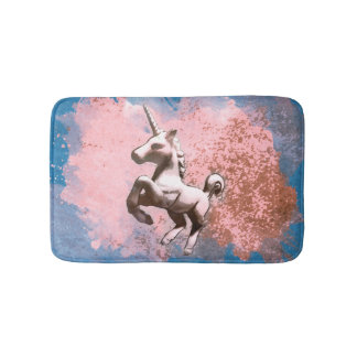 Unicorn Bath Mat (Faded Sherbet)