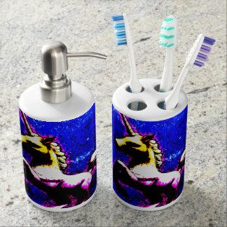 Unicorn Bathroom Set (Punk Cupcake)