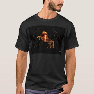 Unicorn Beautiful Sunset Reflection T-Shirt