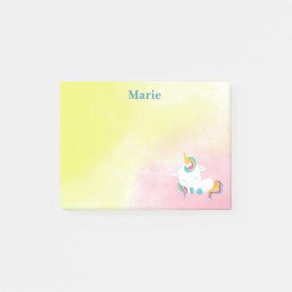 Unicorn Beauty Sleeping Post-it Notes