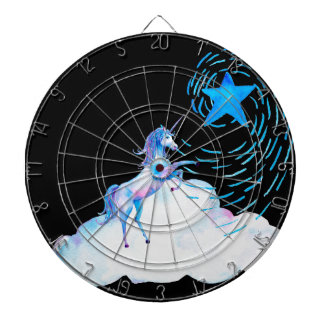 Unicorn black 1 dartboard