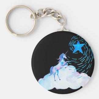 Unicorn black 1 keychain