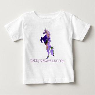 Unicorn Brave Baby Fine Jersey T-ShirtBaby T-Shirt