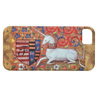 UNICORN Brown Parchment Monogram Case For The iPhone 5
