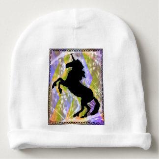 Unicorn by Carol Zeock Baby Beanie