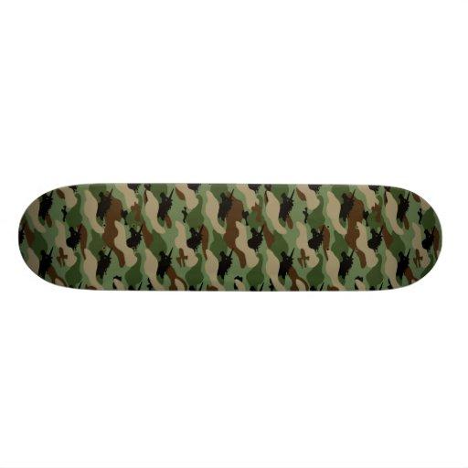 Unicorn Camouflage Skateboard
