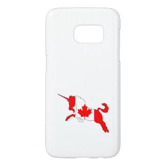 Unicorn Canada Samsung Galaxy S7 Case