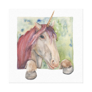 Unicorn Canvas Print