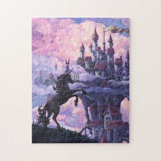 Unicorn Castle Jigsaw Puzzle