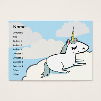 Unicorn - Chubby Business Card