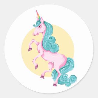 Unicorn! Classic Round Sticker