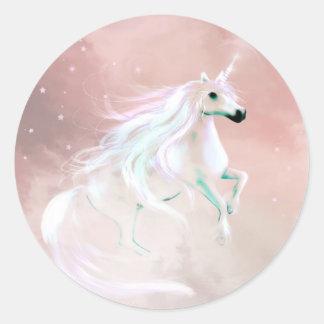 Unicorn Classic Round Sticker