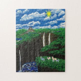 Unicorn Cliffs Family Puzzle
