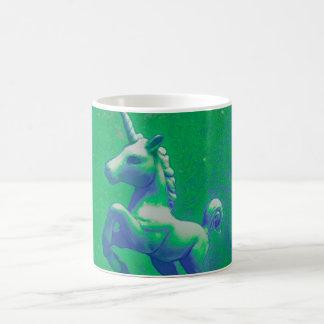 Unicorn Coffee Mug (Glowing Emerald)