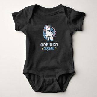Unicorn command baby bodysuit