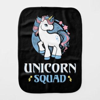 Unicorn command burp cloth