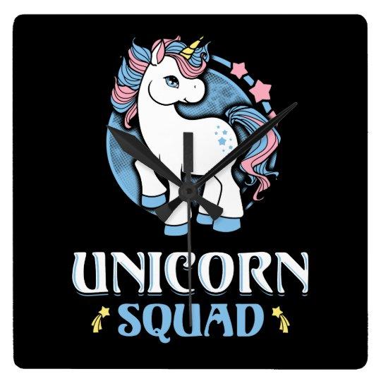 Unicorn command wall clock