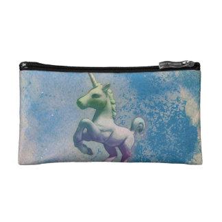 Unicorn Cosmetic Bag Clutch (Blue Arctic)