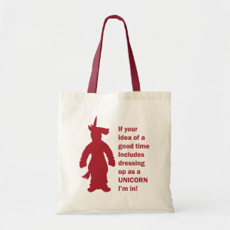 Unicorn Costume Tote Bag