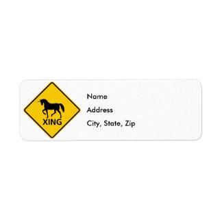 Unicorn Crossing Highway Sign