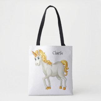 Unicorn custom name bags