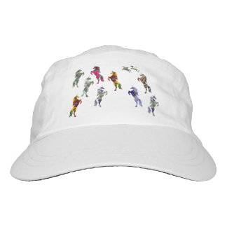 Unicorn Custom Woven Performance Hat, White Hat