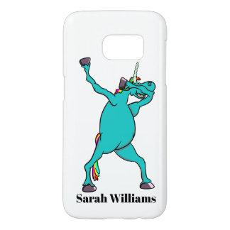 Unicorn Dabbing Samsung Galaxy S7 Case